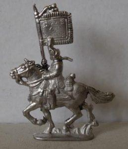 40 mm 18e Cavalerie vaandel