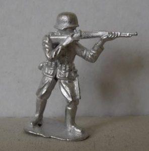 54 mm WWII Duits schutter
