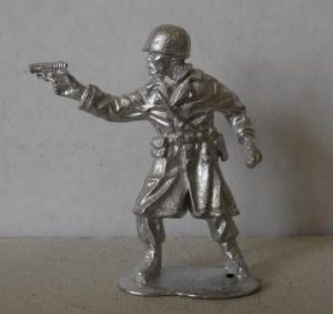 54 mm WWII USA officier